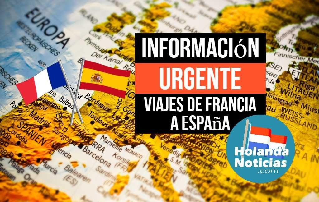 VIAJES DE FRANCIA A ESPAÑA
