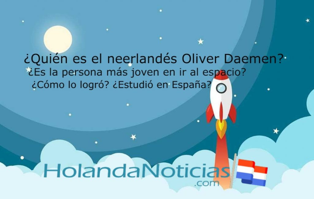 ¿Quién es el neerlandés Oliver Daemen? ¿Realmente es la persona más joven que fue al espacio?