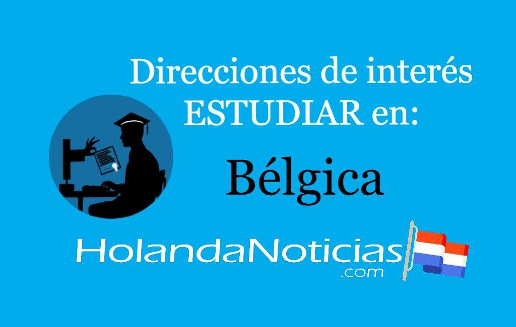 Direcciones de interés, estudiar en Bélgica