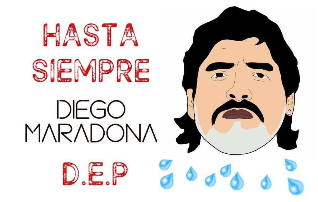 Muerte Maradona