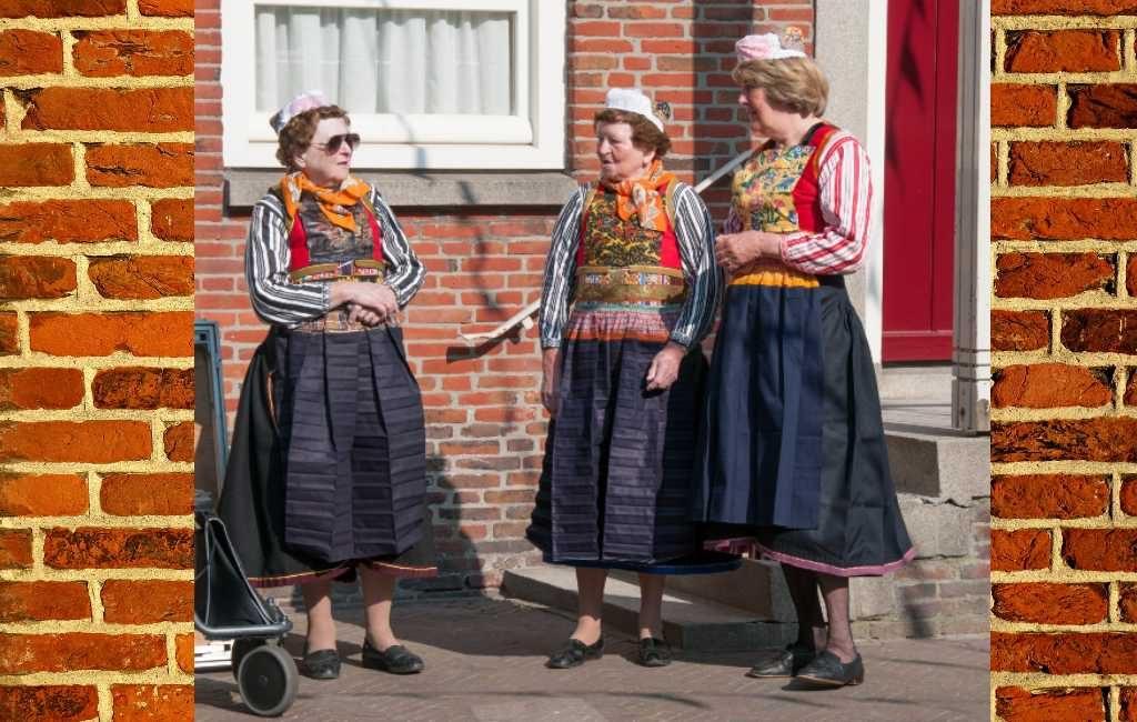 Vestimenta tradicional de los Países Bajos