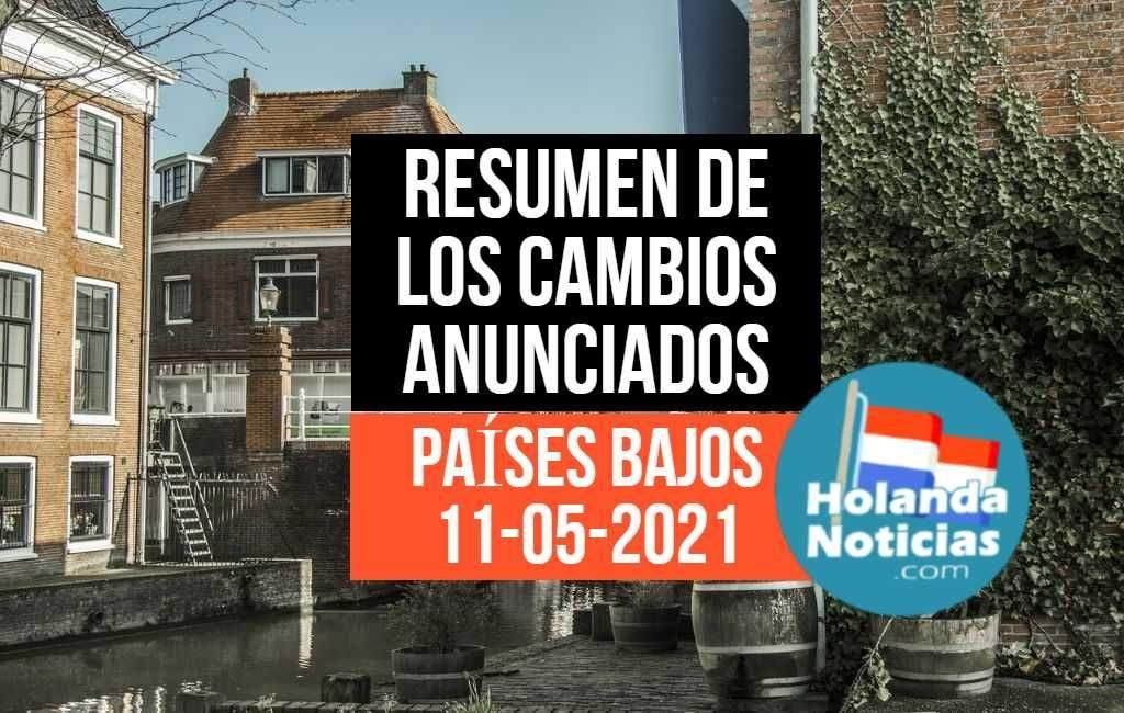 Los Países Bajos HOY y los cambios anunciado en las medidas