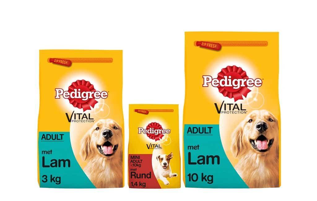 Pienso para perros de la marca Pedigree en mal estado en los Países Bajos