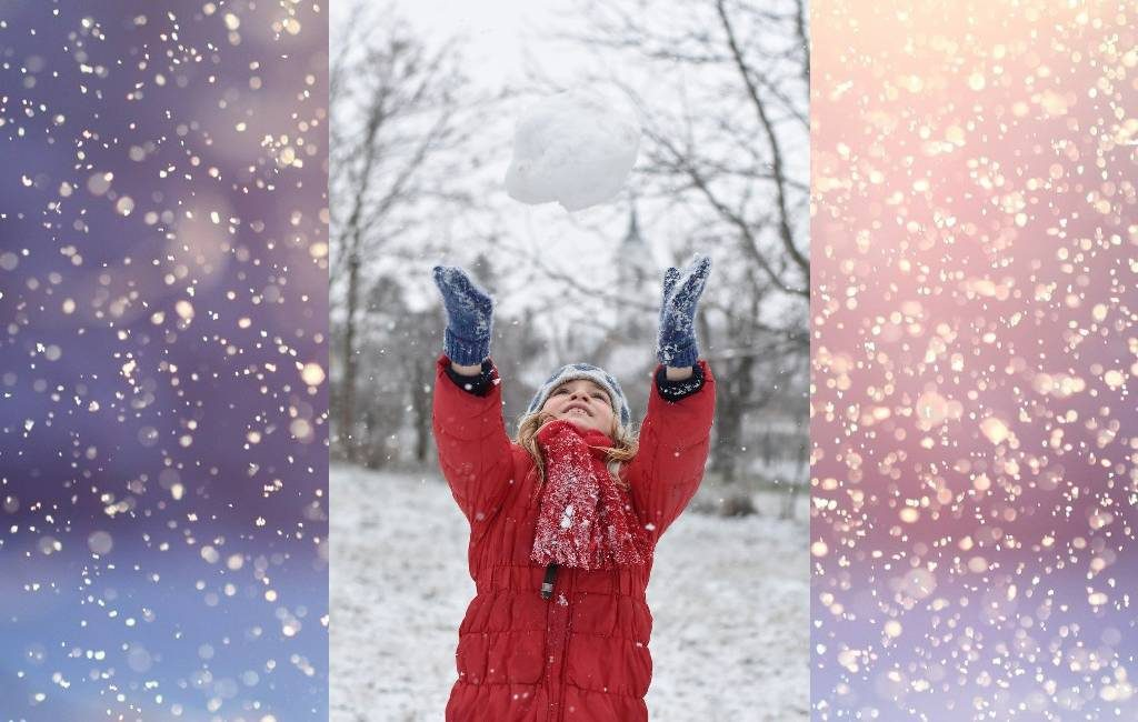 Hombre amenaza a padres e hijos durante pelea de bolas de nieve
