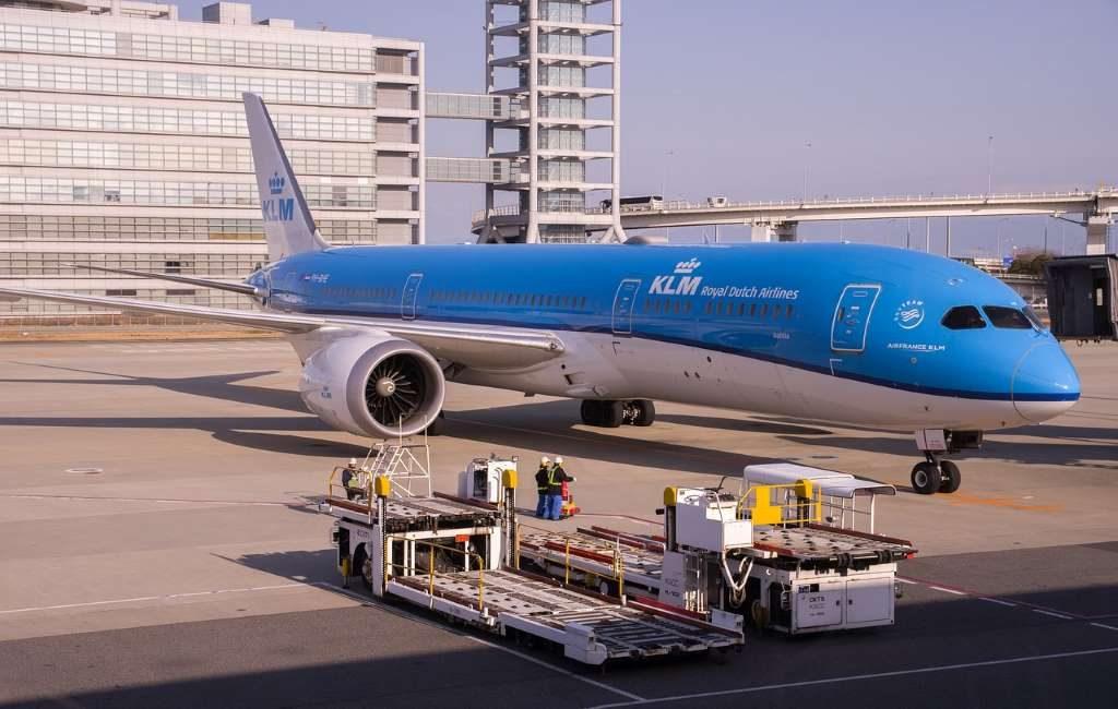 Los vuelos cancelados de KLM.