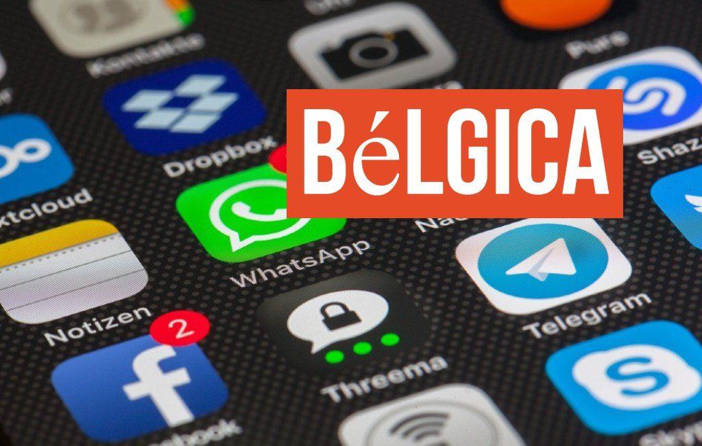Bélgica y el uso de redes sociales, Internet y teléfonos inteligentes.