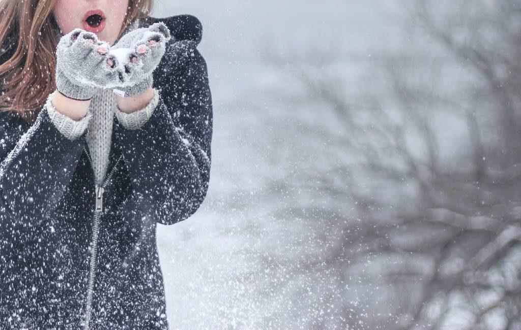 Nieve en los Países Bajos y Bélgica. Conoce el pronóstico.