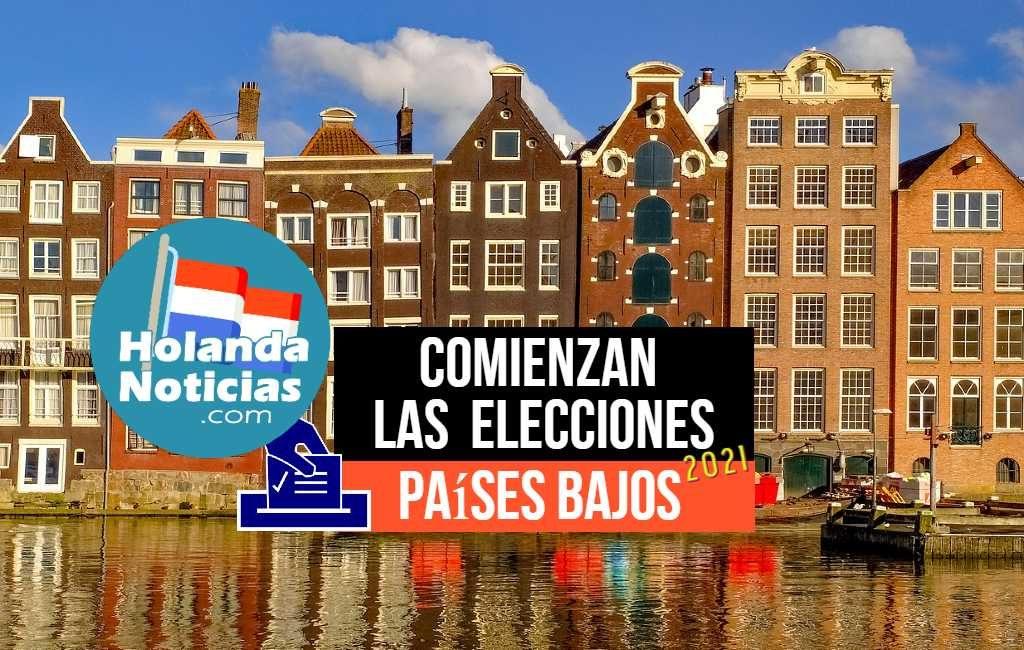 Comienzan las elecciones 2021 en los Países Bajos. ¿Cuáles son las nuevas formas de votar en pandemia?