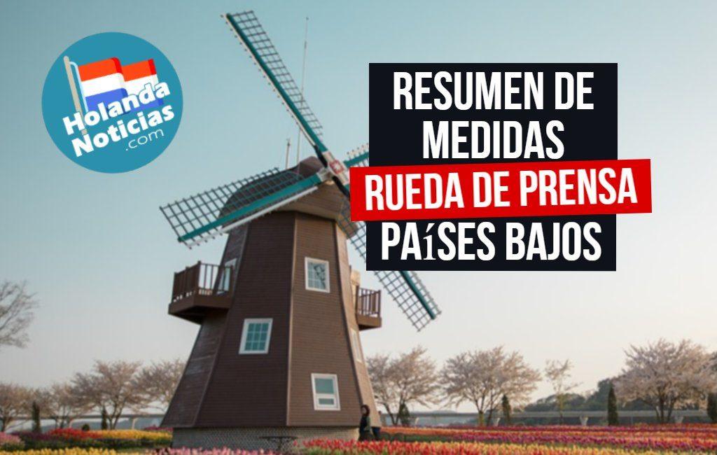 Resumen de medidas en los Países Bajos