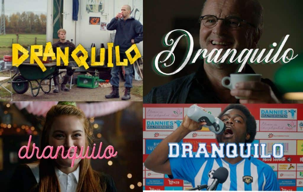 Dranquilo, la campaña holandesa para beber con moderación.