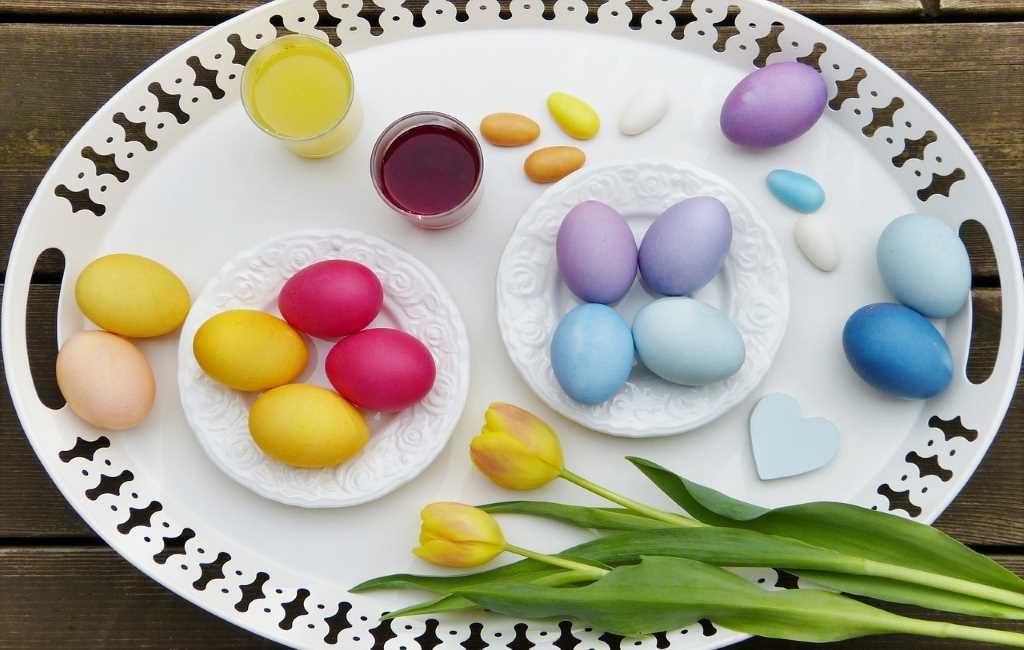 Los neerlandeses compran más huevos en Pascua, que en otras épocas del año