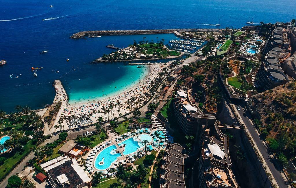 Varios viajeros dieron positivo por corona durante un viaje de prueba a Gran Canaria
