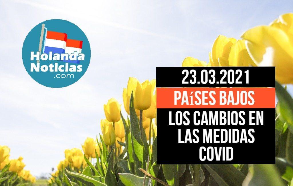 Resumen de las medidas anunciadas el martes 23 de marzo en los Países Bajos