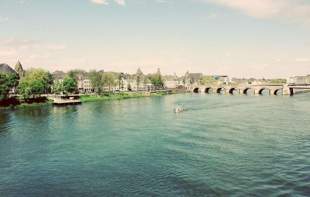 La marea alta en el río Maas ha alcanzado el punto más alto en Limburgo