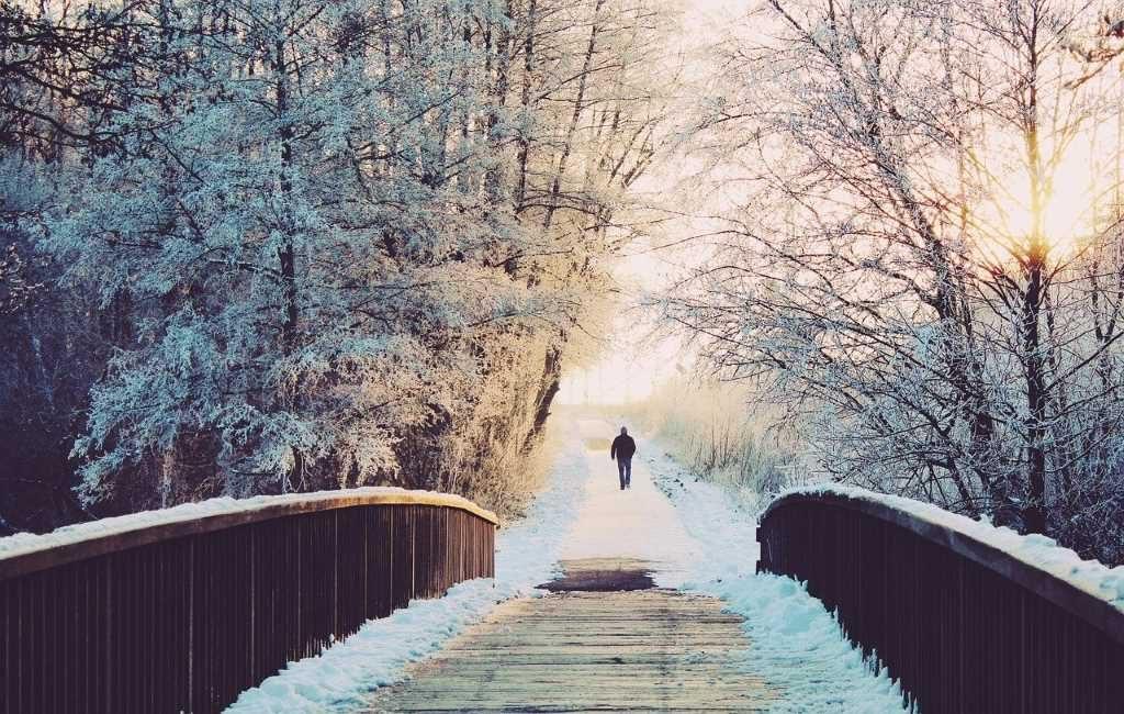 Alerta Amarilla por Nieve y resbalones en los Países Bajos