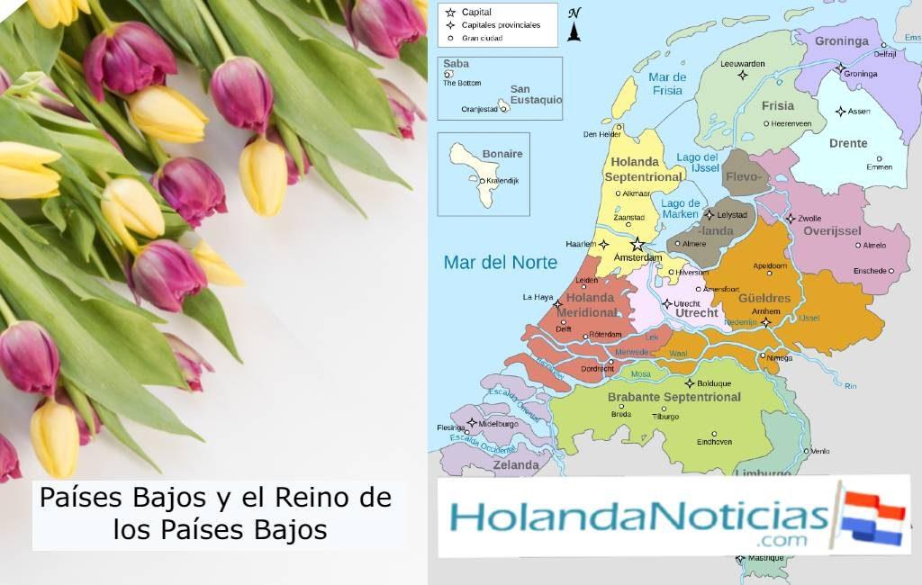 ¿Cuál es la diferencia entre los Países Bajos y Reino de los Países Bajos?
