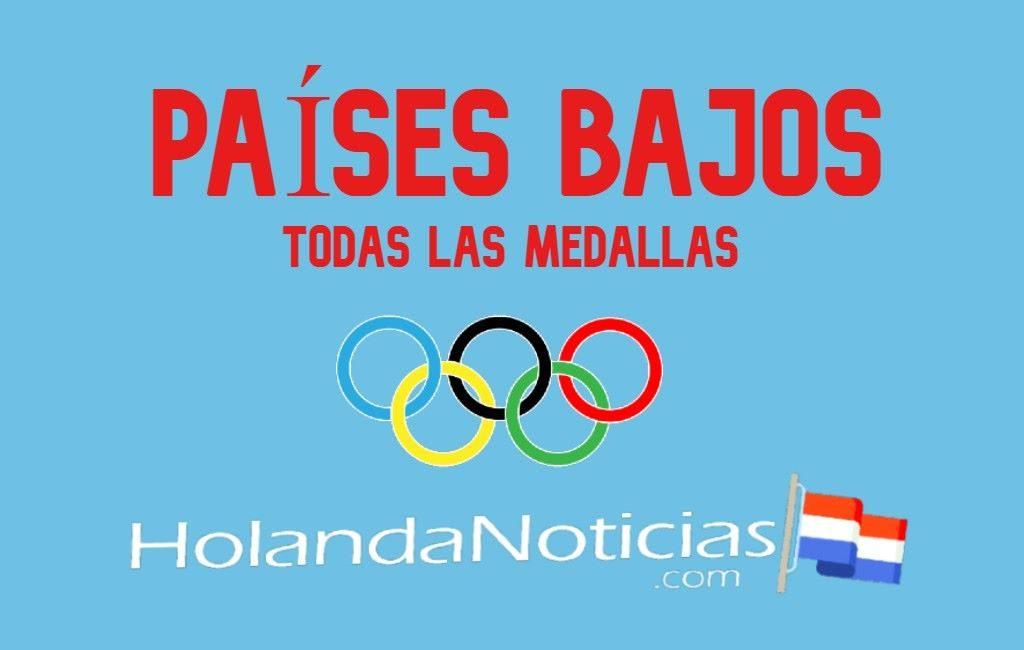 Las medallas que ha ganado los Países Bajos en los Juegos Olímpicos de Tokio