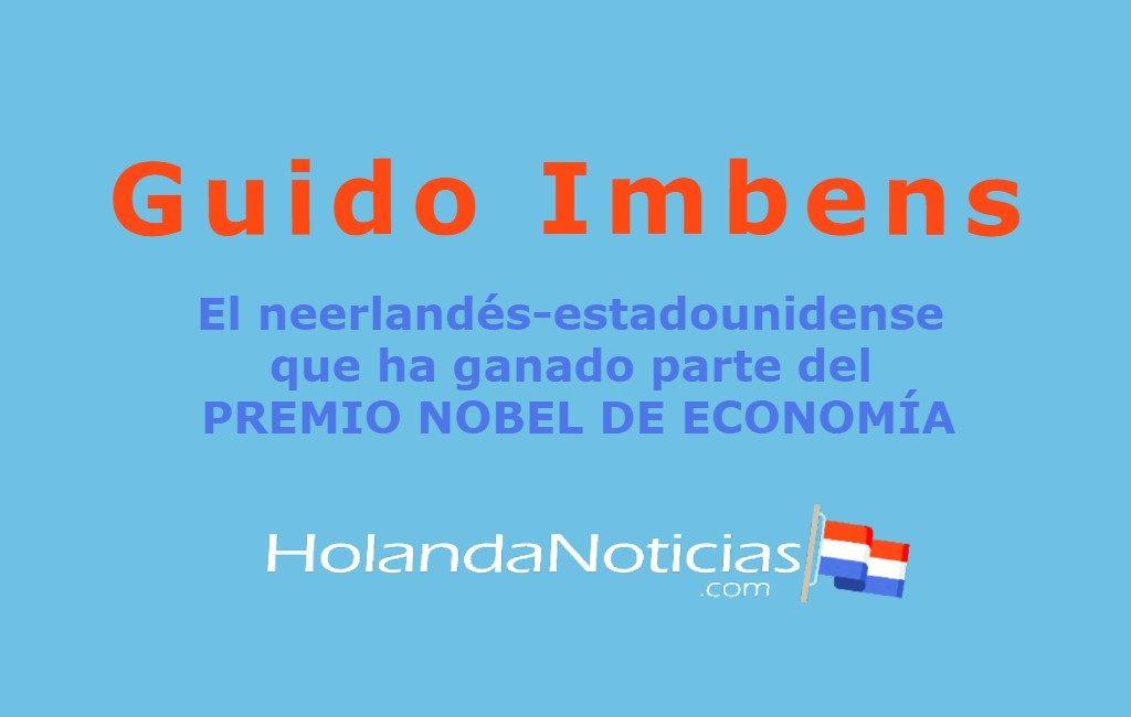 El neerlandés-estadounidense Guido Imbens y el Premio Nobel de Ciencias Económicas 2021
