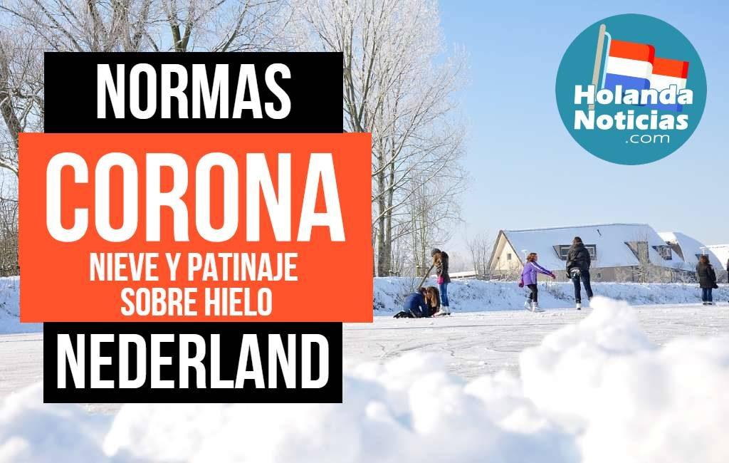 Normas corona Nederland, patinaje sobre hielo y nieve
