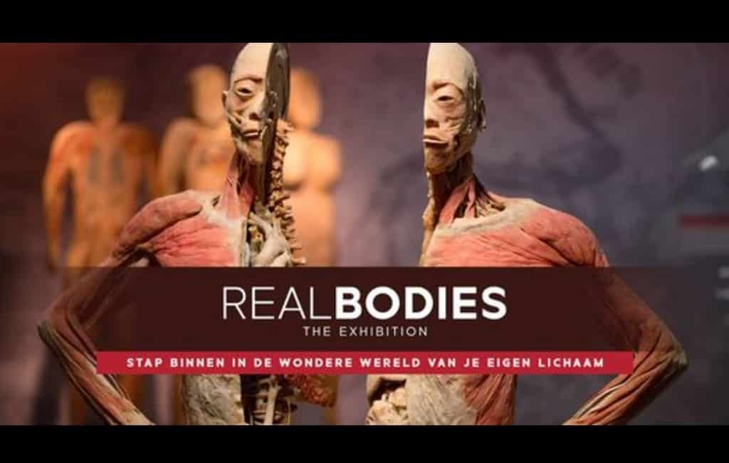 En Bélgica está por inaugurar la exposición de cuerpos humanos reales en Hospitality Center con la exhibición Real Bodies. Ese es el gran espacio que conecta con el Sportpaleis y el Lotto Aren.