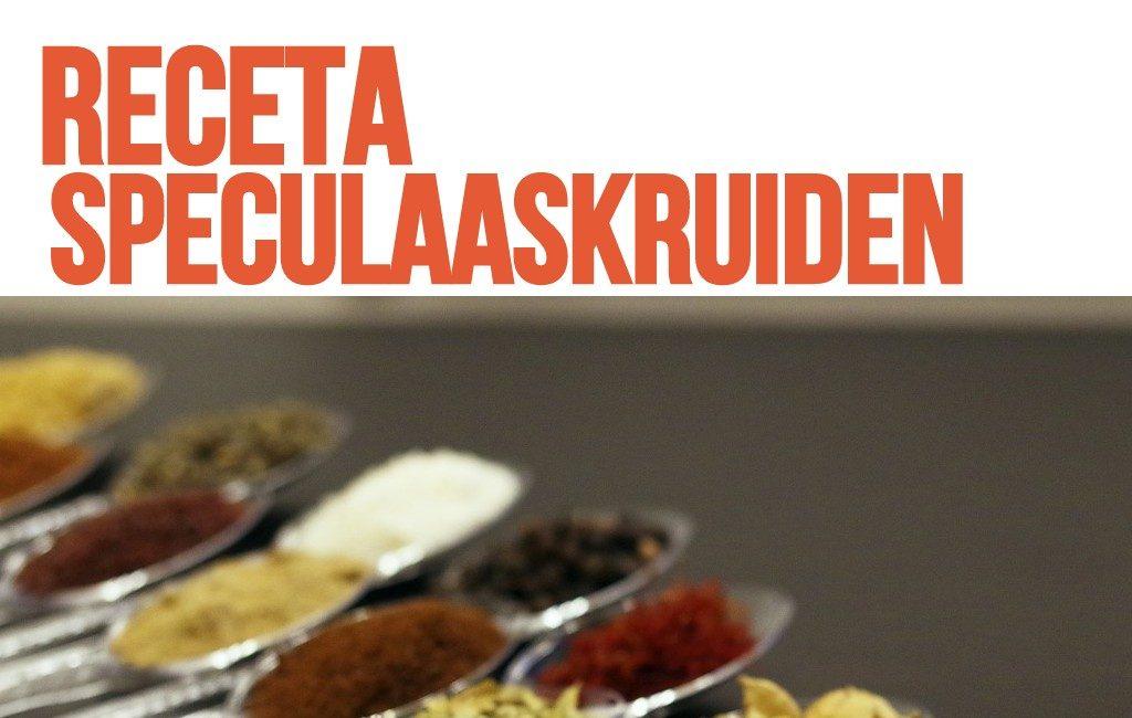 Receta del Speculaaskruiden La Mezcla de Especias para el Speculaasbrokken o Speculaas