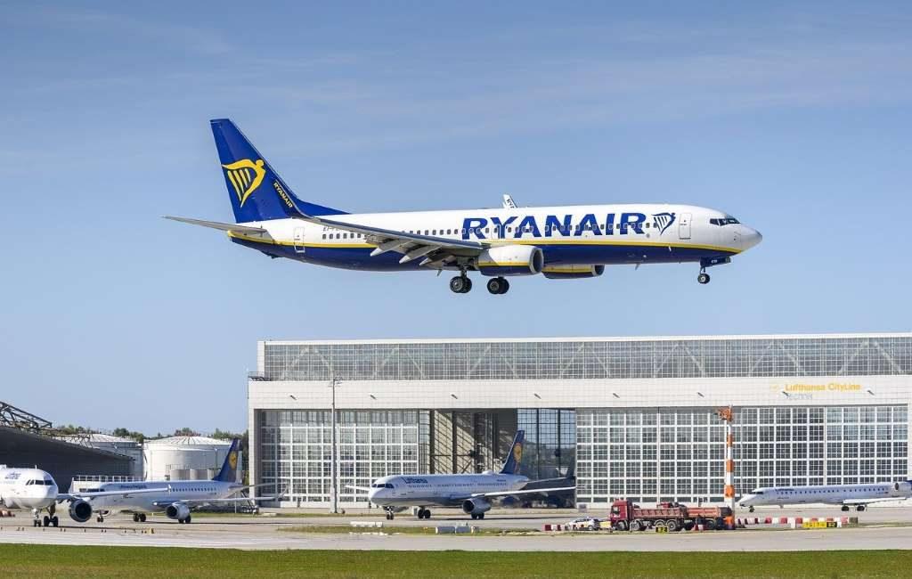 Ryanair porta documentos covid.
