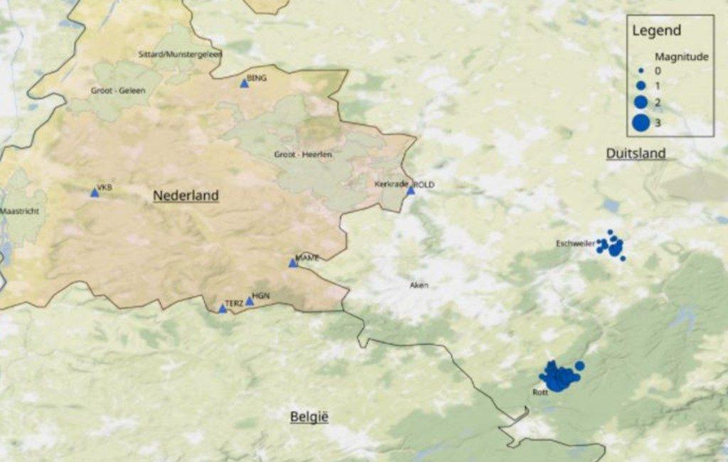 KNMI-terremoto Países Bajos