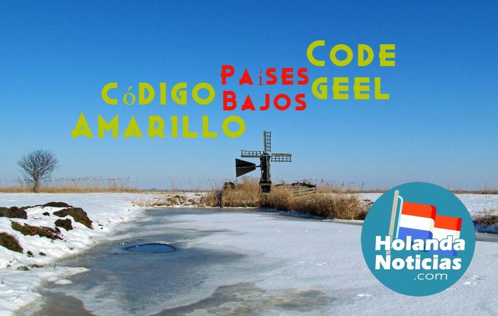 Code geel-Nederland-Países Bajos-Holanda